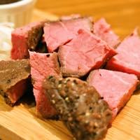 自家製牛肉のロースト